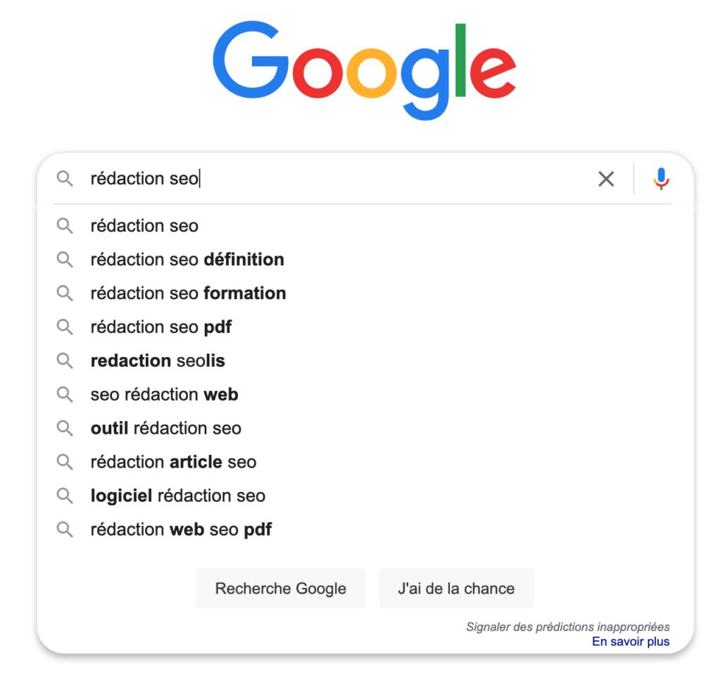 Suggestions de recherche